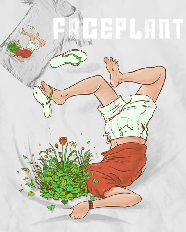 Face Plant by Ellsswhere on Threadless