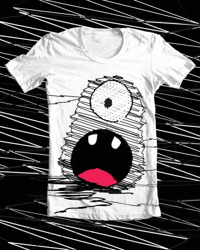 scribble monster by dededaa on Threadless