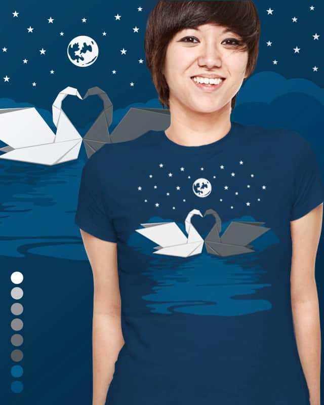 Origami Lake by Malhat06 on Threadless