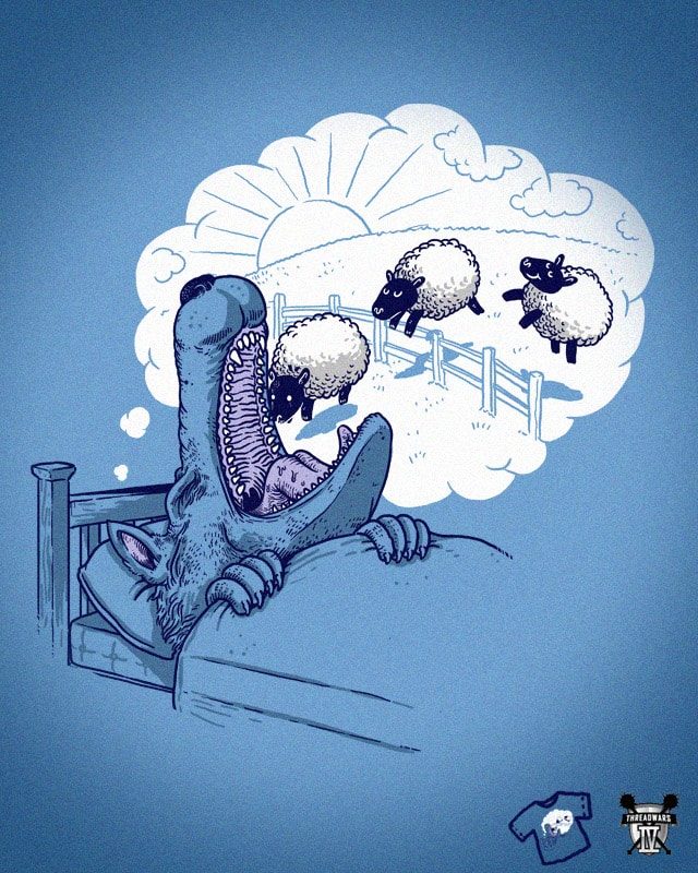 Sweet Dreams by alexmdc on Threadless
