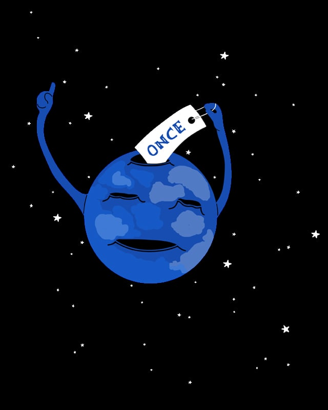 Once in a blue moon by bandy on Threadless