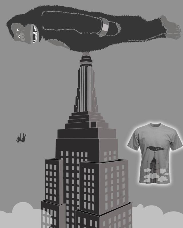 Planking Kong by macdoodle on Threadless