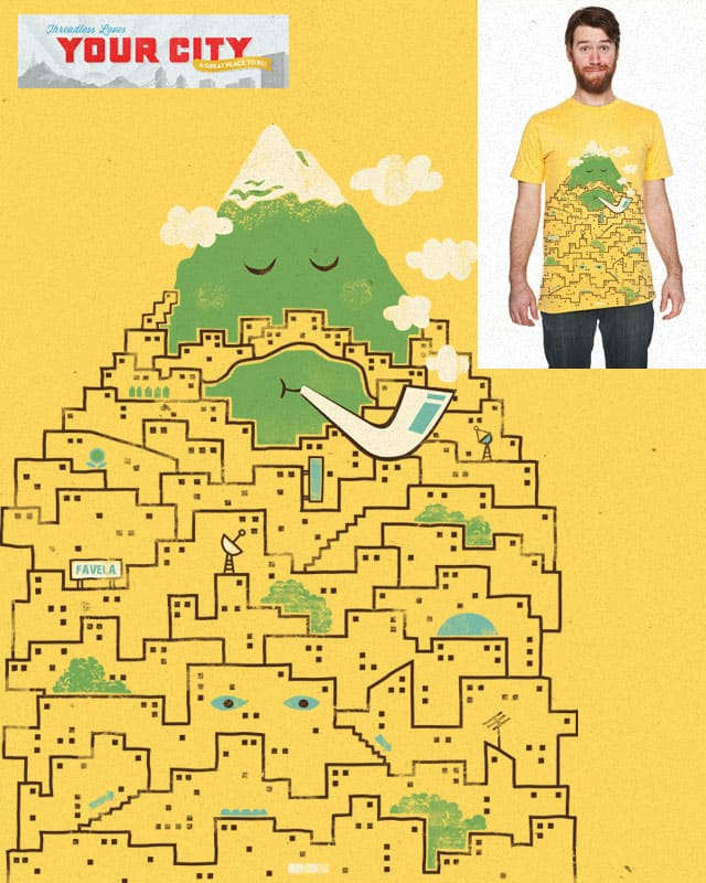 The Bearded City by skitchism on Threadless