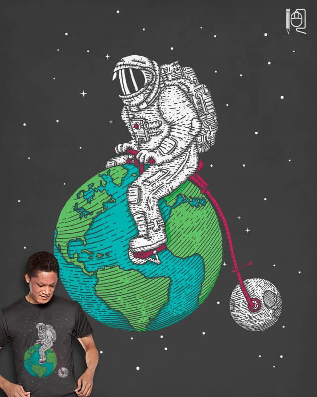 Ride the world by rodrigobhz on Threadless
