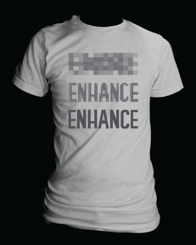 Let's enhance! by nathanwpyle at gmail.com on Threadless