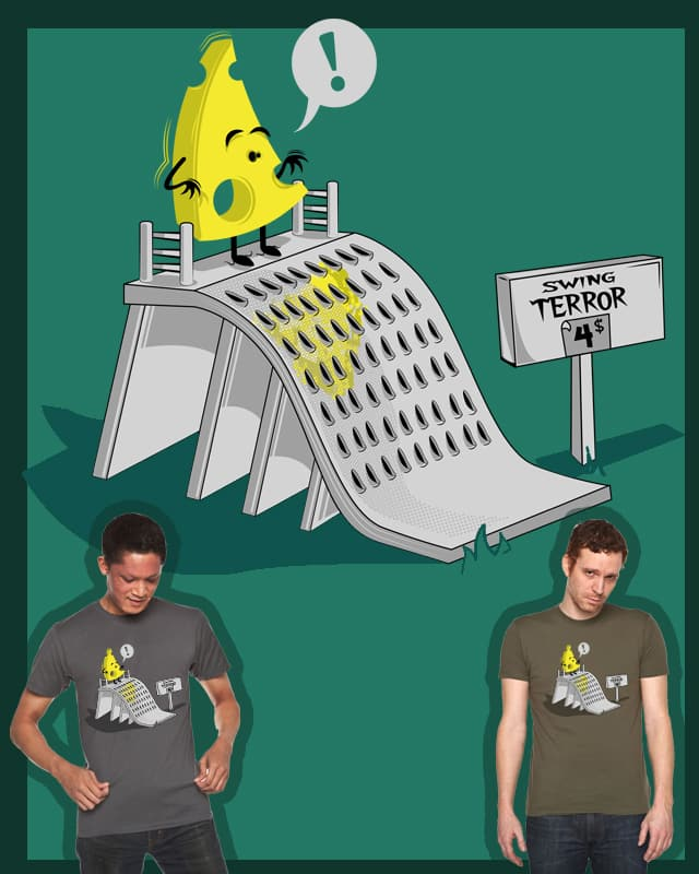 grated cheese by ibaitxo on Threadless