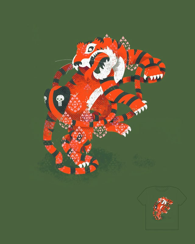 The Tail of India by orangehead on Threadless