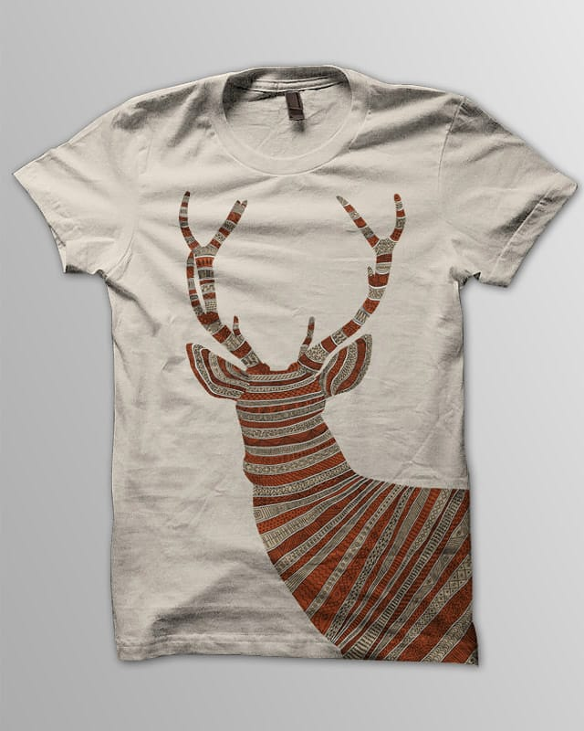Stag by speakerine on Threadless