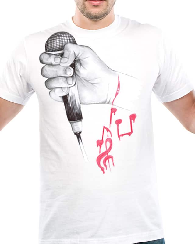 Music in my Vein by ndough on Threadless