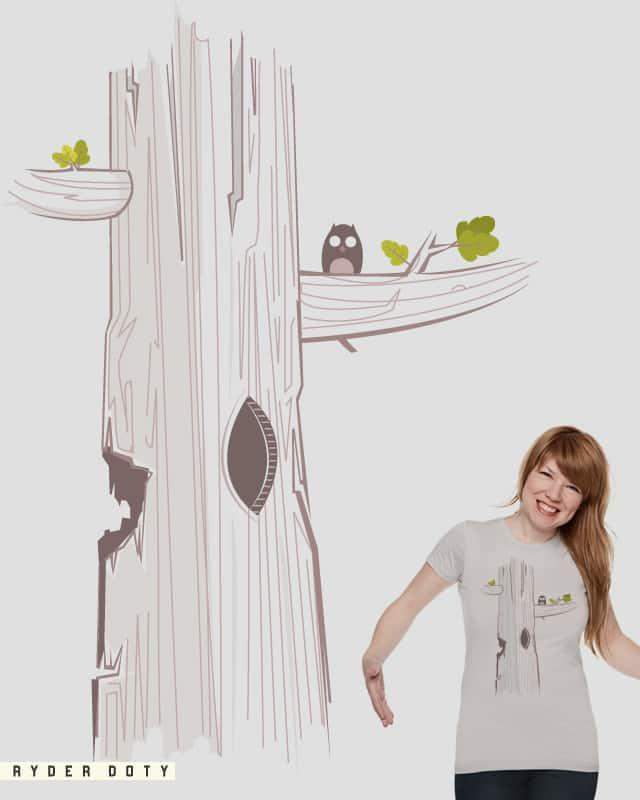 An Owl in Nature by Ryder on Threadless