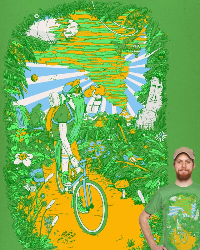 The ultimate cycle race or whatever by c-royal on Threadless