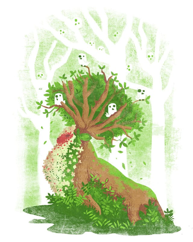 The Heart of the Forest by queenmob on Threadless