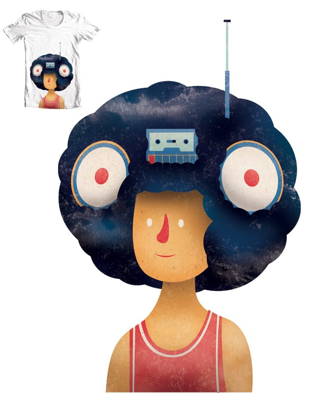 'Fro Stereo by Wharton on Threadless