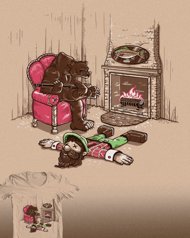 If Bears bad Guns too... by colinlepper on Threadless