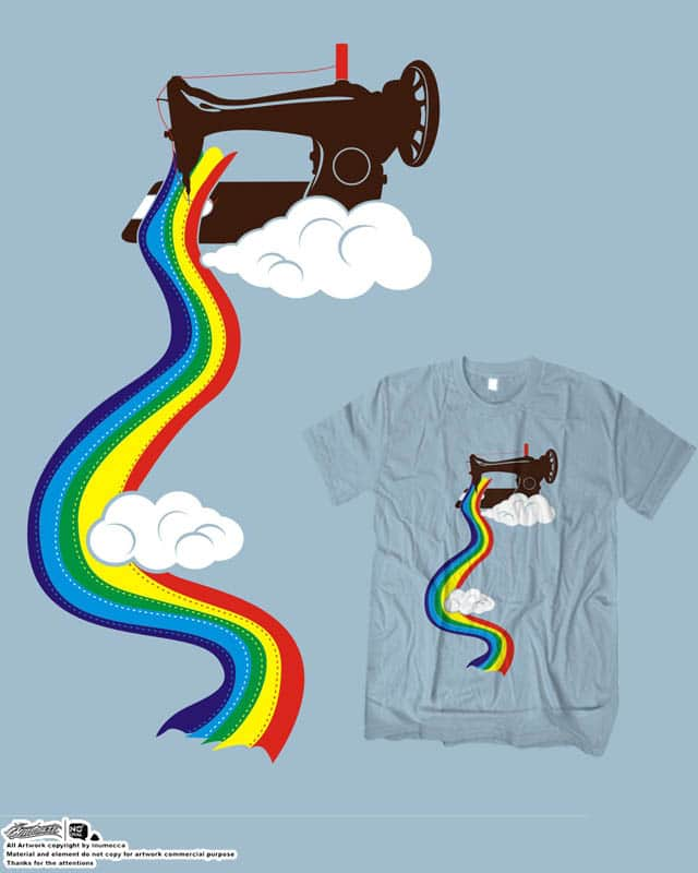 make a rainbow by inumocca on Threadless