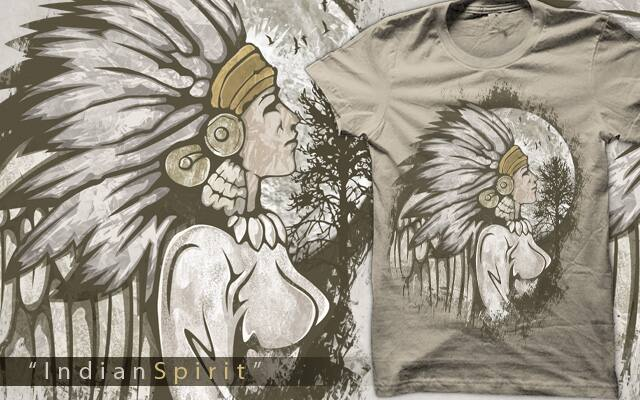 """IndianSpirit"" by ramil21 on Threadless"