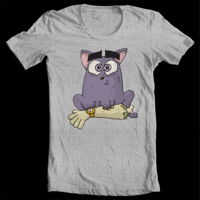 What the cat brought in by wolfgangmustdie on Threadless