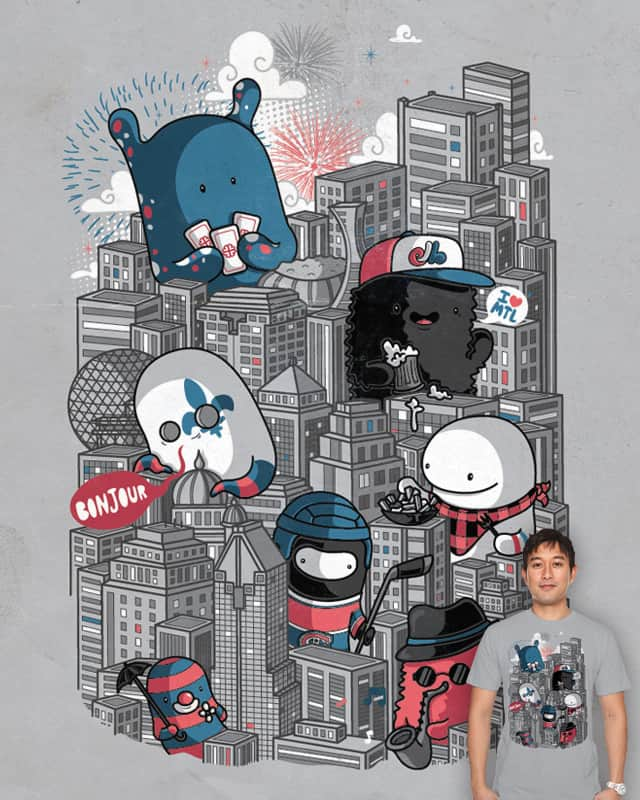 Montreal by Recycledwax on Threadless