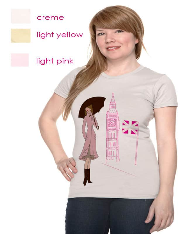 LDN TOWN by aaangie22 on Threadless