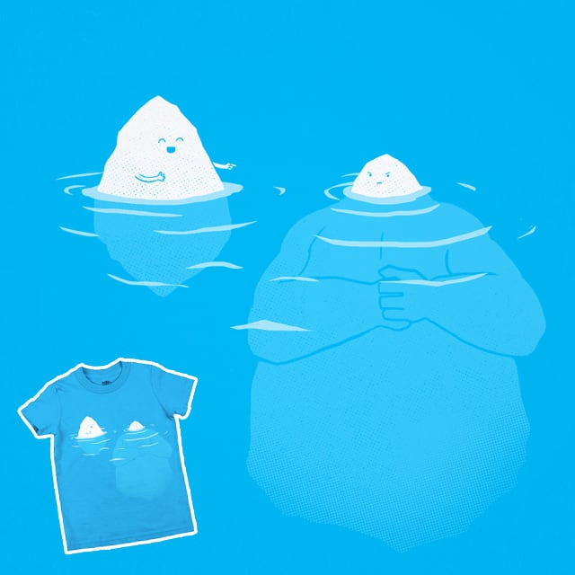 The Tip Of The Iceberg by the Sleeping Sky on Threadless