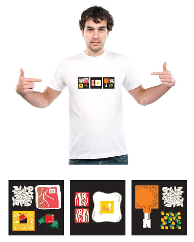 Gimme Three Squares by invincible pioneer on Threadless