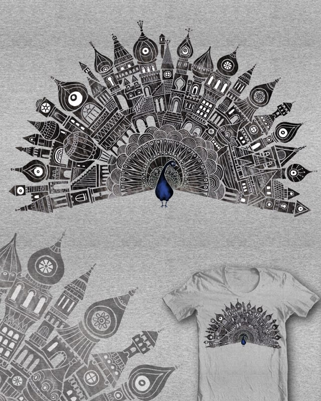 Peacock City by malo and the whale on Threadless