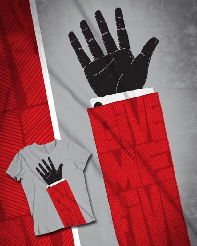 GIve me five by D-maker on Threadless