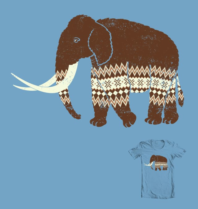 Woolen Mammoth by NGee on Threadless