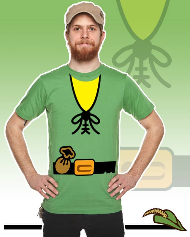 Blockman Woodsmen Torso by RobinHood06 on Threadless