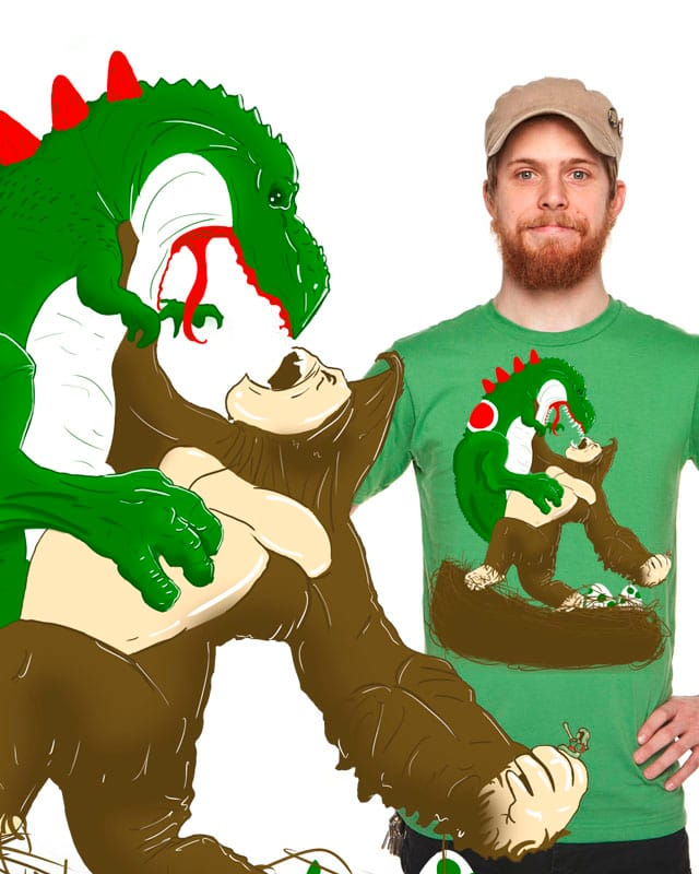 Yoshi vs Kong by Lasthope5 on Threadless