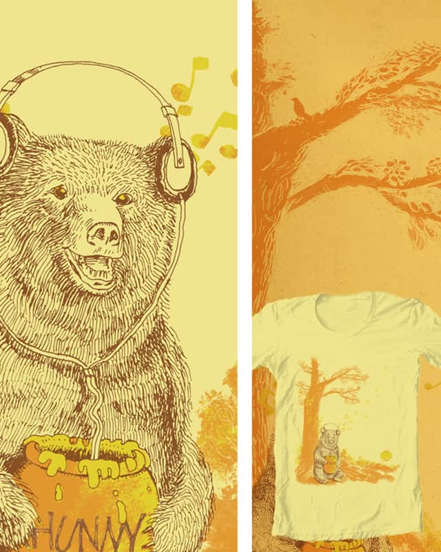 sounds like honey in my ears! by c-royal on Threadless