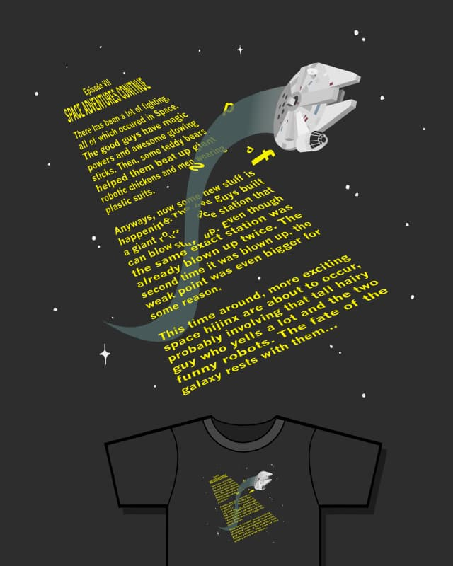 Renegade Paragraphs by chocopants on Threadless
