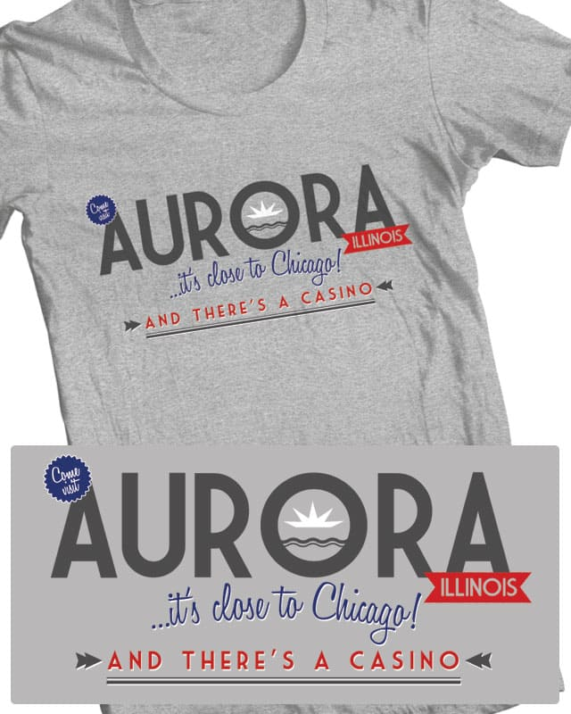 Aurora, Illinois by tomgreever on Threadless