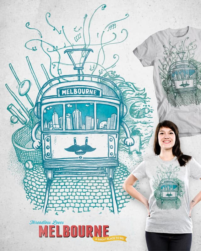 Melbourne by Raulio on Threadless