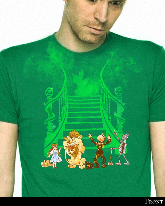 The Great and Powerful Oz by sirdiddymus on Threadless