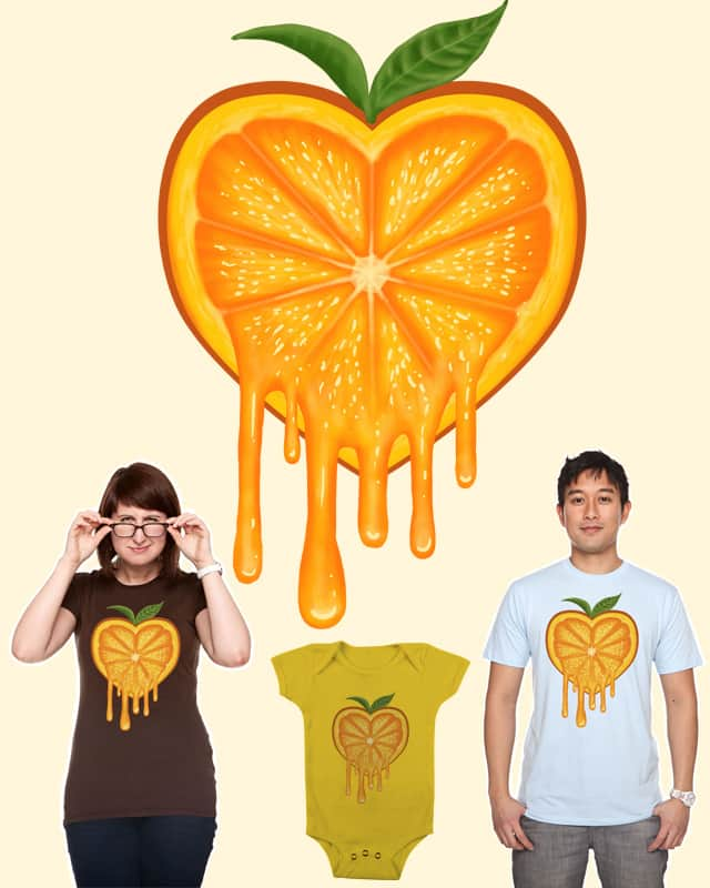 Loves Orange by fathi on Threadless