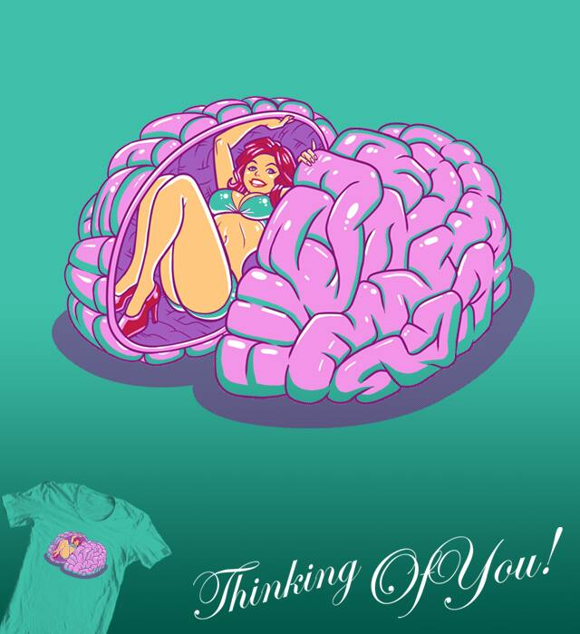 Thinking of You! by Benjidojo on Threadless