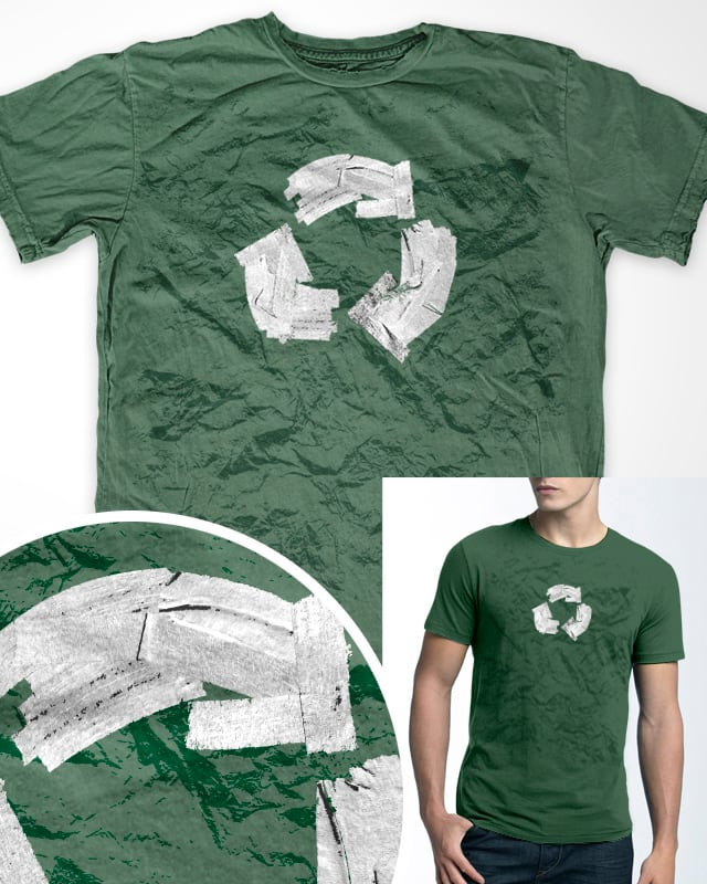 Is Green really green? by Myteee on Threadless