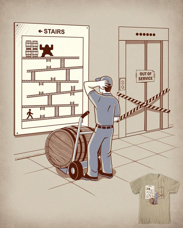 Hard Job by Graja on Threadless
