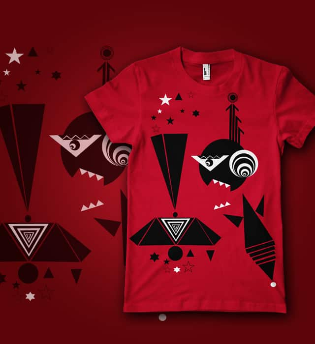 Geometrically by Naked Monkey on Threadless