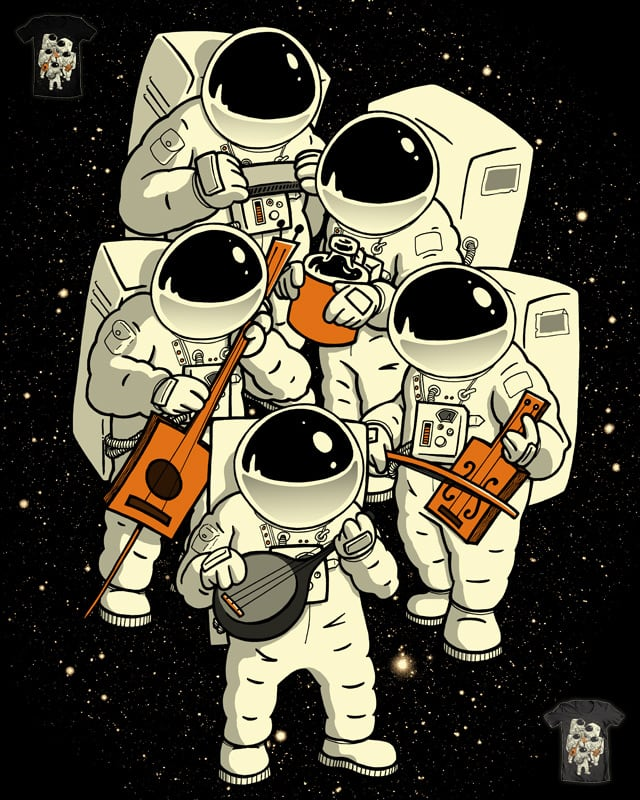 Space Jamboree by ivanrodero on Threadless