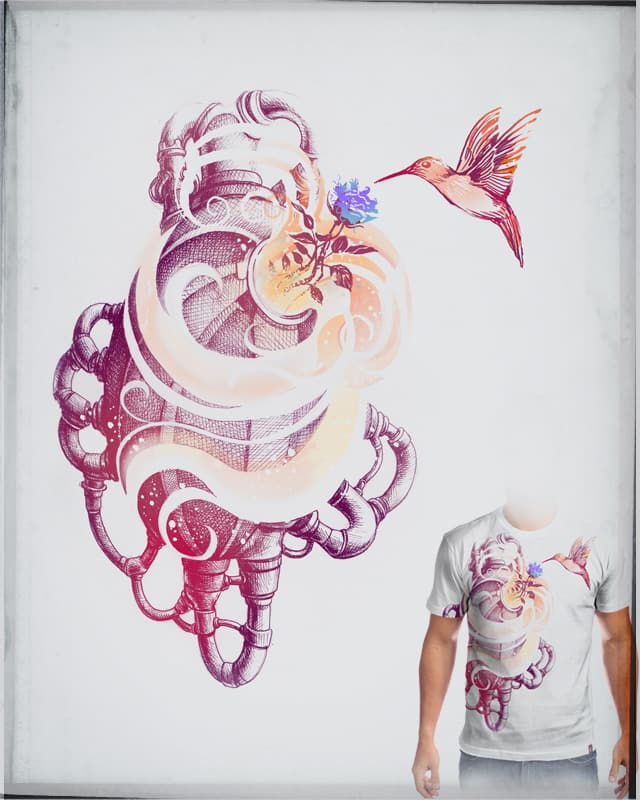 Ghost in the shell by tolagunestro on Threadless