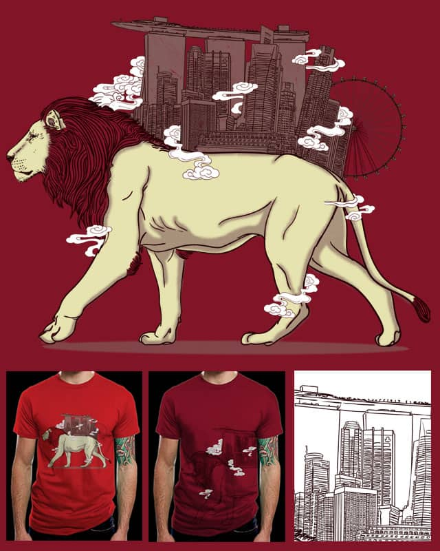 The Lion City by xiaobaosg on Threadless