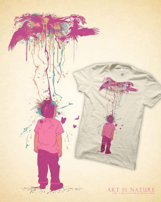 Art is Nature by azrhon on Threadless