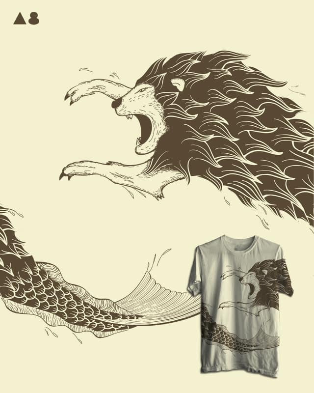 Merlion by agrimony on Threadless