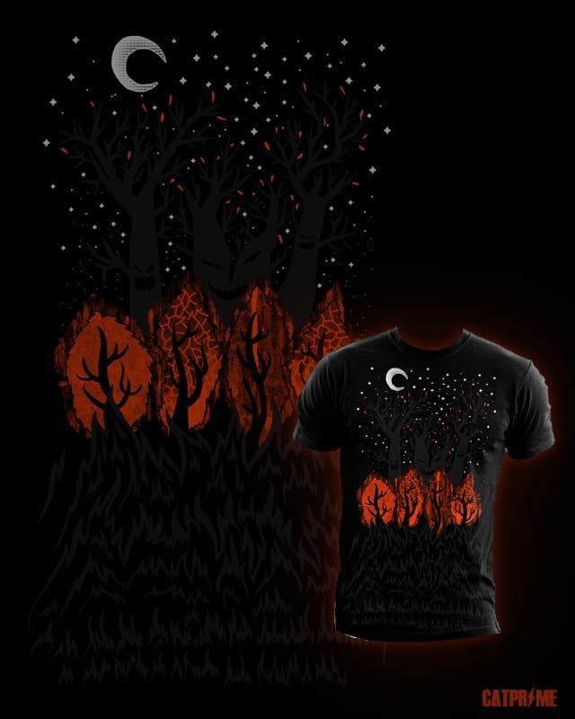 Woods In October by CatPrime on Threadless