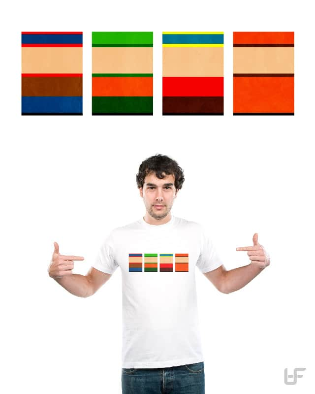 Minimalist South Park by tafloyd4 on Threadless
