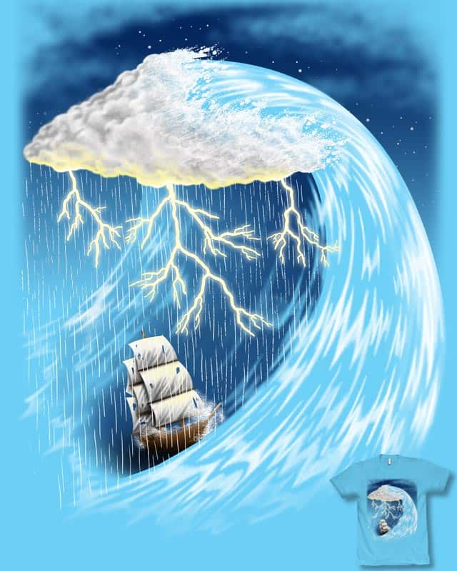 Perfect Storm by fat pigeon on Threadless