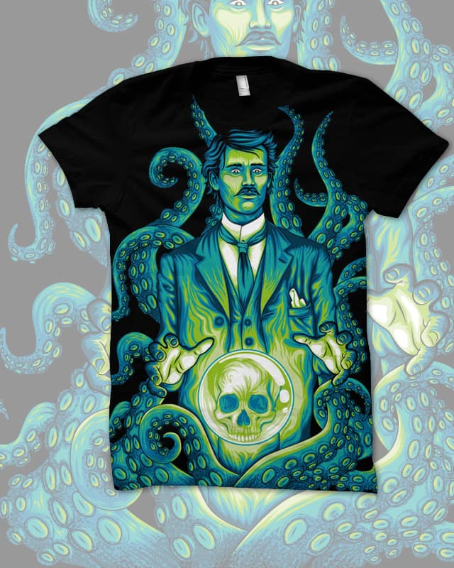 Everybody loves Lovecraft by David Maclennan on Threadless