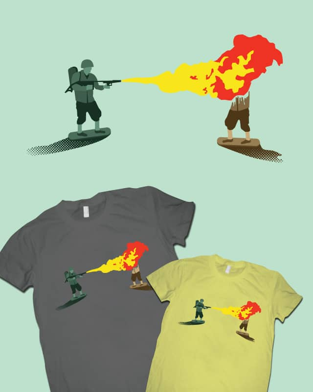 Green Team Wins! by McHensley on Threadless